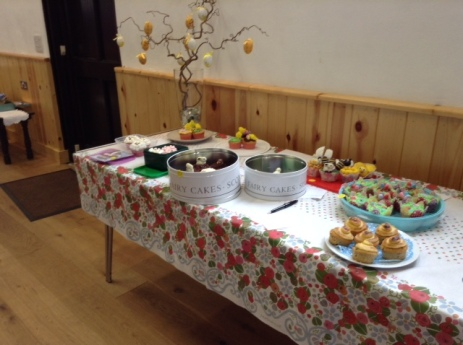 Cupcake competition entries March 26th 2016