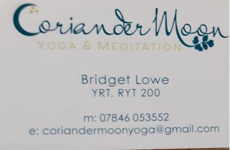 Yoga contact details